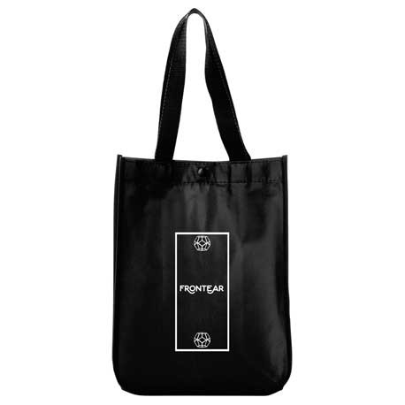 Mini Laminated Non-Woven Snap Tote