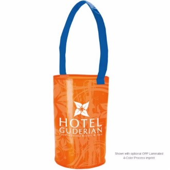 Universal Source™ Laminated Non-Woven Barrel Tote