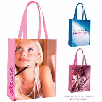 Universal Source™ Laminated Non-Woven Portrait Tote