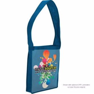 Universal Source™ Laminated Non-Woven Shoulder Tote