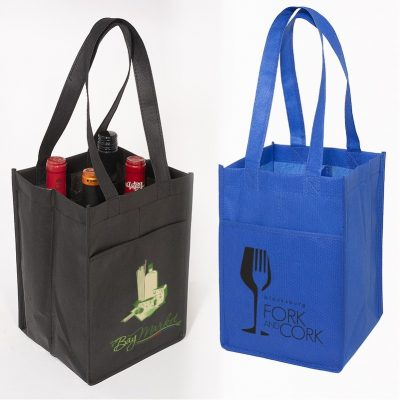4-Bottle Wine Tote