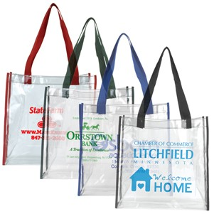 """Matterhorn"" Clear Vinyl Stadium Compliant Tote Bag (Overseas)"