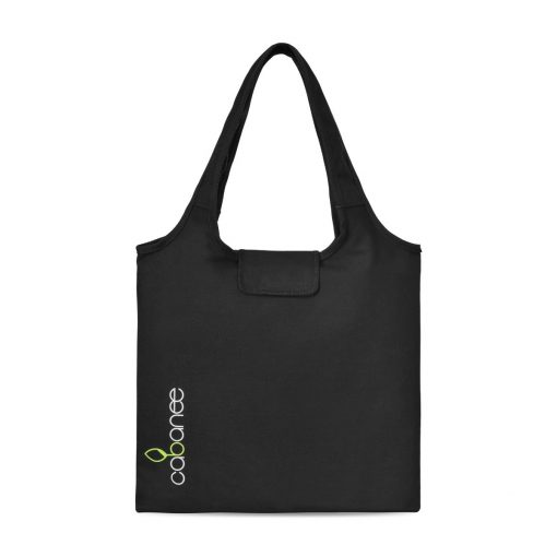 Willow Cotton Packable Tote - Black