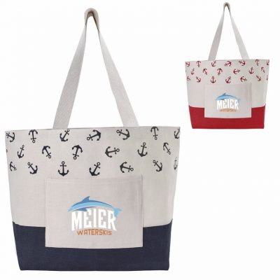 Atchison® Anchor Beach Tote Bag