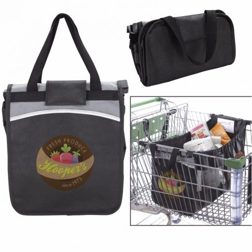 GoodValue® Expandable Grocery Cart Tote Bag