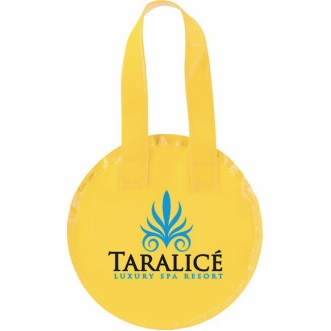 Universal Source™ Non-Woven Mini Round Tote Bag