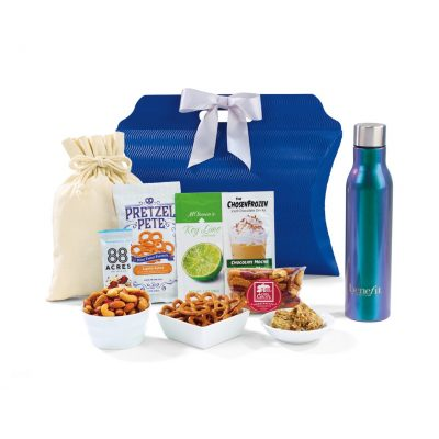 Sidney Sip & Snack Gift Tote Silver