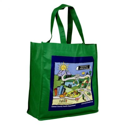 "13"" Digital Non Woven Tote Bag"