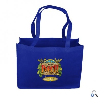 "Carry-All 16"" Non Woven Tote with 24"" Handle - Digital Imprint"