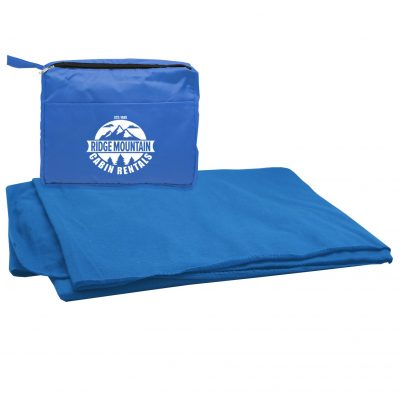 Stadium Blanket in a Tote