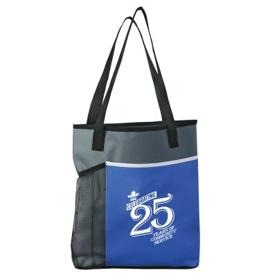The Broadway Tote Bag - 600D polyester