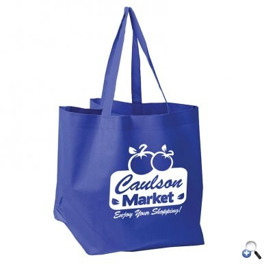 The Shopper - Nonwoven Grocery Tote