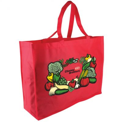 "The Trade Show - 20"" Non-woven Tote- digital imprint"
