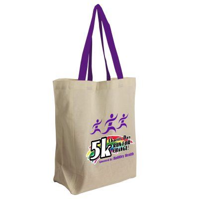 Brunch Tote - Cotton Grocery Tote - Digital