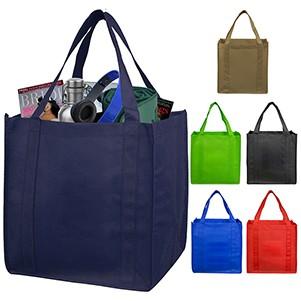 """Mega"" Grocery Shopping Tote Bag (Blank)"