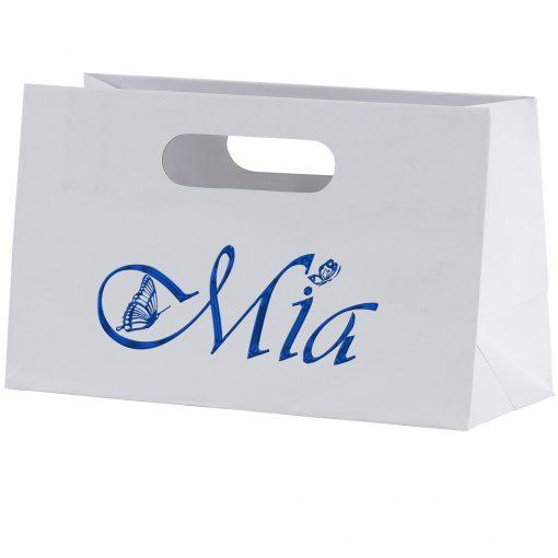 Mia™ Boutique Die Cut Handle Tote Bag