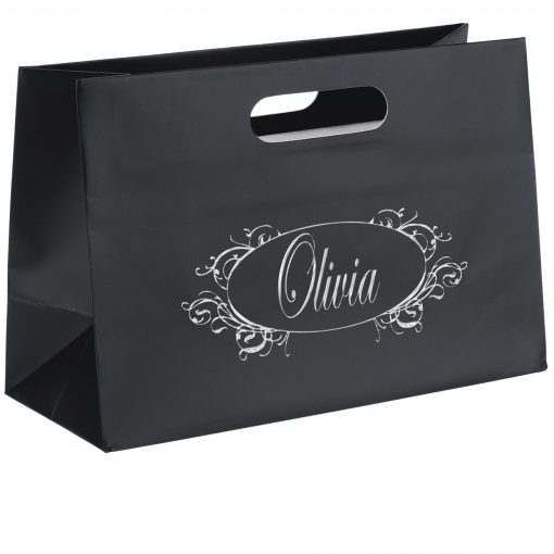 Olivia™ Boutique Die Cut Handle Tote Bag