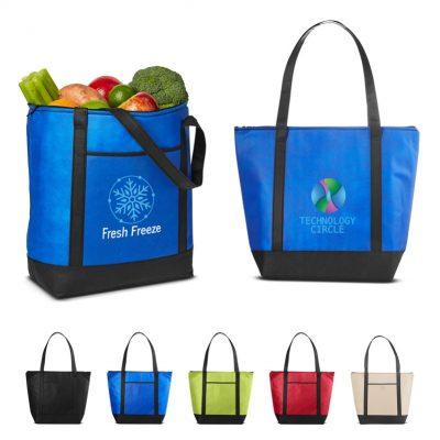 Medium Size Non-Woven Cooler Tote Bag
