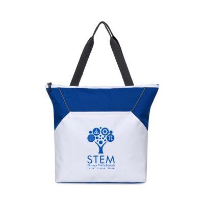Royal Blue Everett Convention Tote Bag