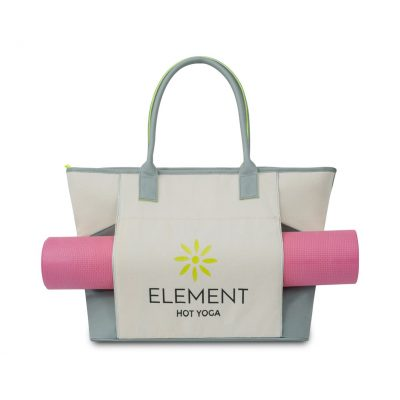 Balance Active Cotton Tote - Natural-Glacial Grey