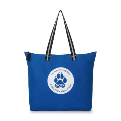 Main Street Jumbo Tote - Royal Blue