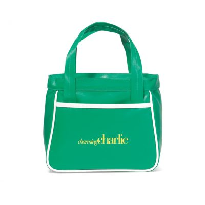 Retro Mini Fashion Tote - Kelly Green