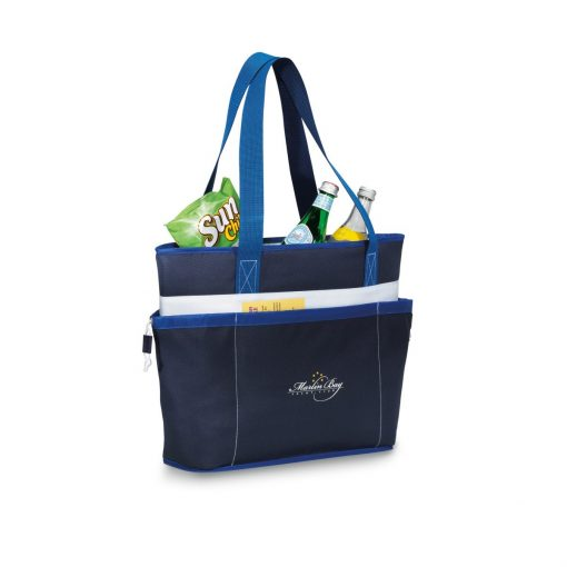 Vineyard Insulated Tote - Navy Blue