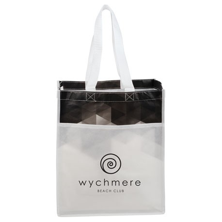 Gradient Laminated Grocery Tote