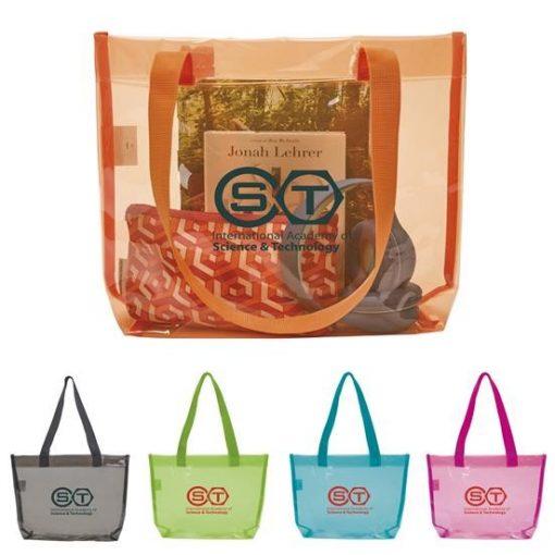 GoodValue® Translucent Color Tote Bag