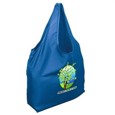 Foldable rPET Grocery Tote - Digital