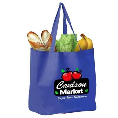 The Shopper - Non woven Grocery Tote - Digital