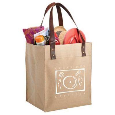Westover Premium Jute Grocery Tote