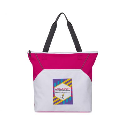 Everett Tote - Power Pink