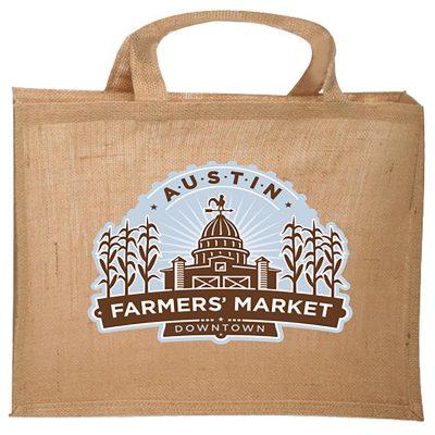 Mercado Jute Tote Bag