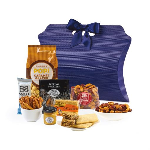 Time for a Snack-cation Gift Tote - Navy Blue