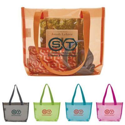 Good Value® Translucent Color Tote Bag